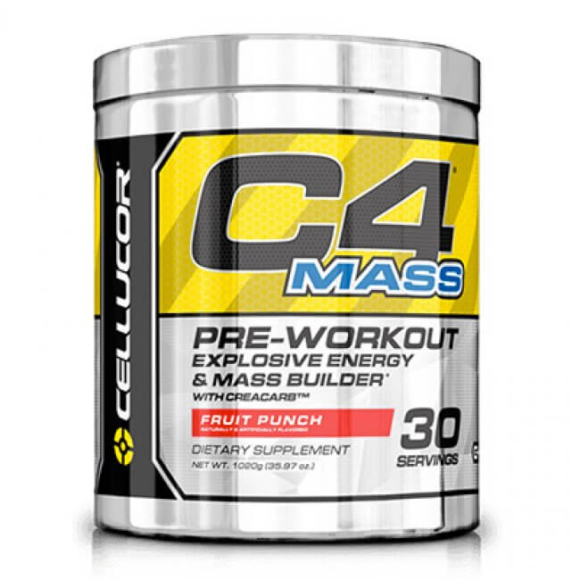 C4 Mass Cellucor funciona mesmo?