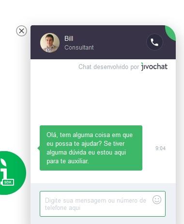JivoChat - Chat Online para Sites