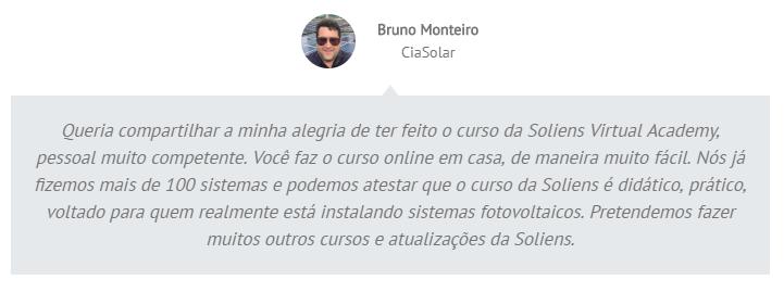 Especialista Fotovoltaico Avançado - Depoimentos 01
