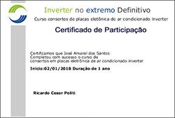 Certificado de Participação - Inverter no Extremo Definitivo
