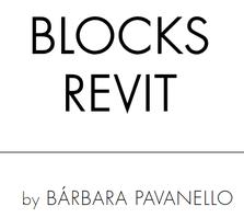 Coleção Completa Blocks Revit - by Barbara Pavanello