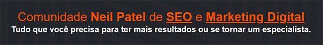 O que é a Comunidade Neil Patel de SEO e Marketing Digital