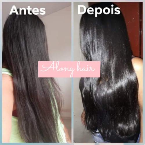 Antes e Depois do Projeto Along Hair 01
