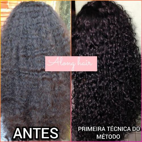 Antes e Depois do Projeto Along Hair 02