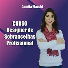 Curso de Designer de Sobrancelhas Profissional Camila Marchi