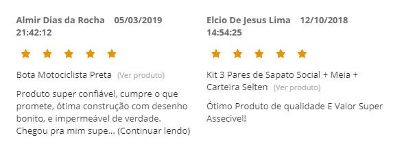 Depoimentos de Clientes da Selten Brasil