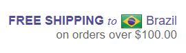 Free Shipping Brazil Glambot