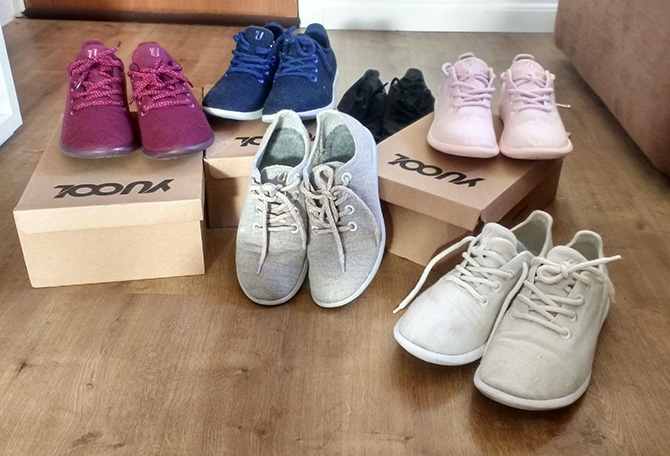 Yuool Shoes Resenha