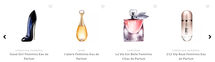 Produtos e Marcas Veni Perfumaria