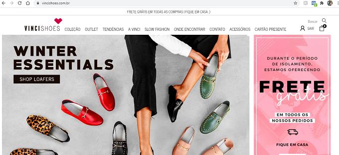 Como Comprar na Vinci Shoes