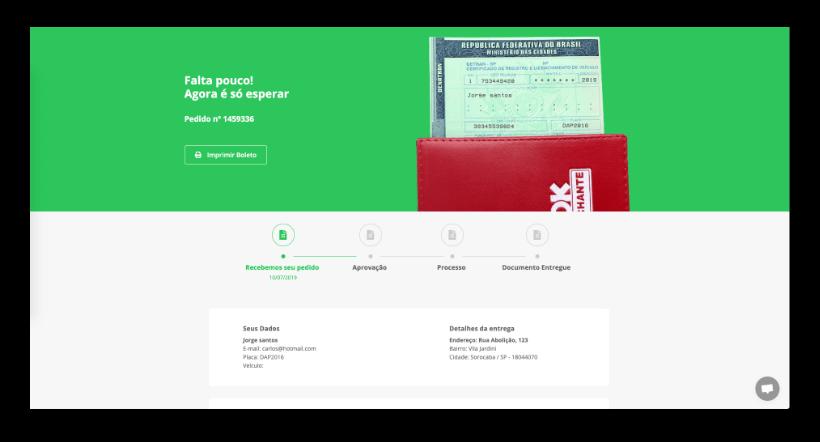 DOK Despachante - Licenciamento Pagamento