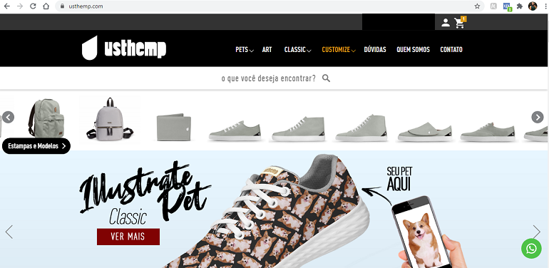 Usthemp - Site Oficial